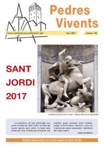 Revista Pedres Vivents, núm. 152, abril 2017