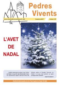 Revista Pedres Vivents, núm. 157, novembre 2017